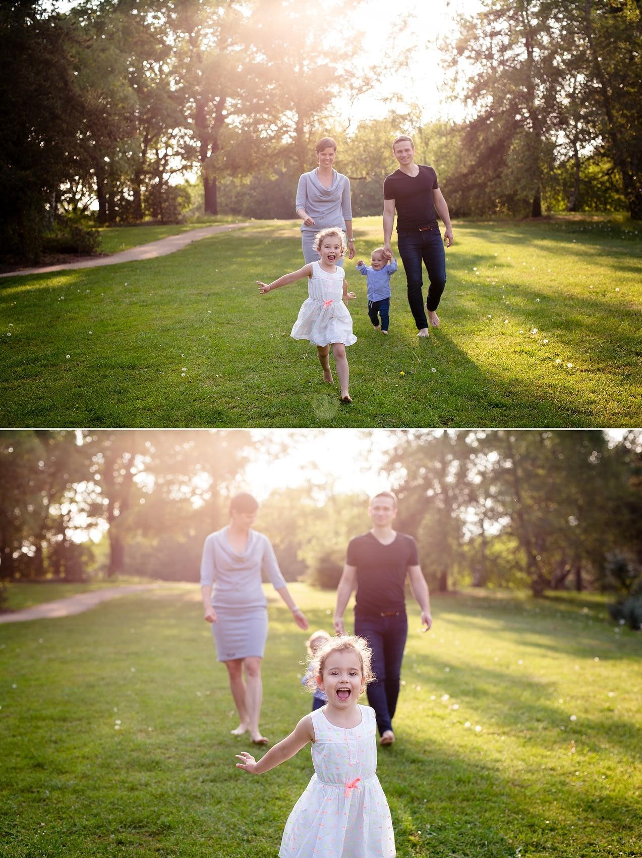 Focení rodin v přírodě v Dendrologické zahradě, Foceni rodin Praha