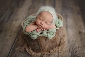 Foceni miminek, Newborn foceni novorozencu Praha